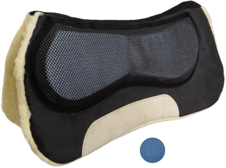 Anatomic Correction Saddle Pad  Blå