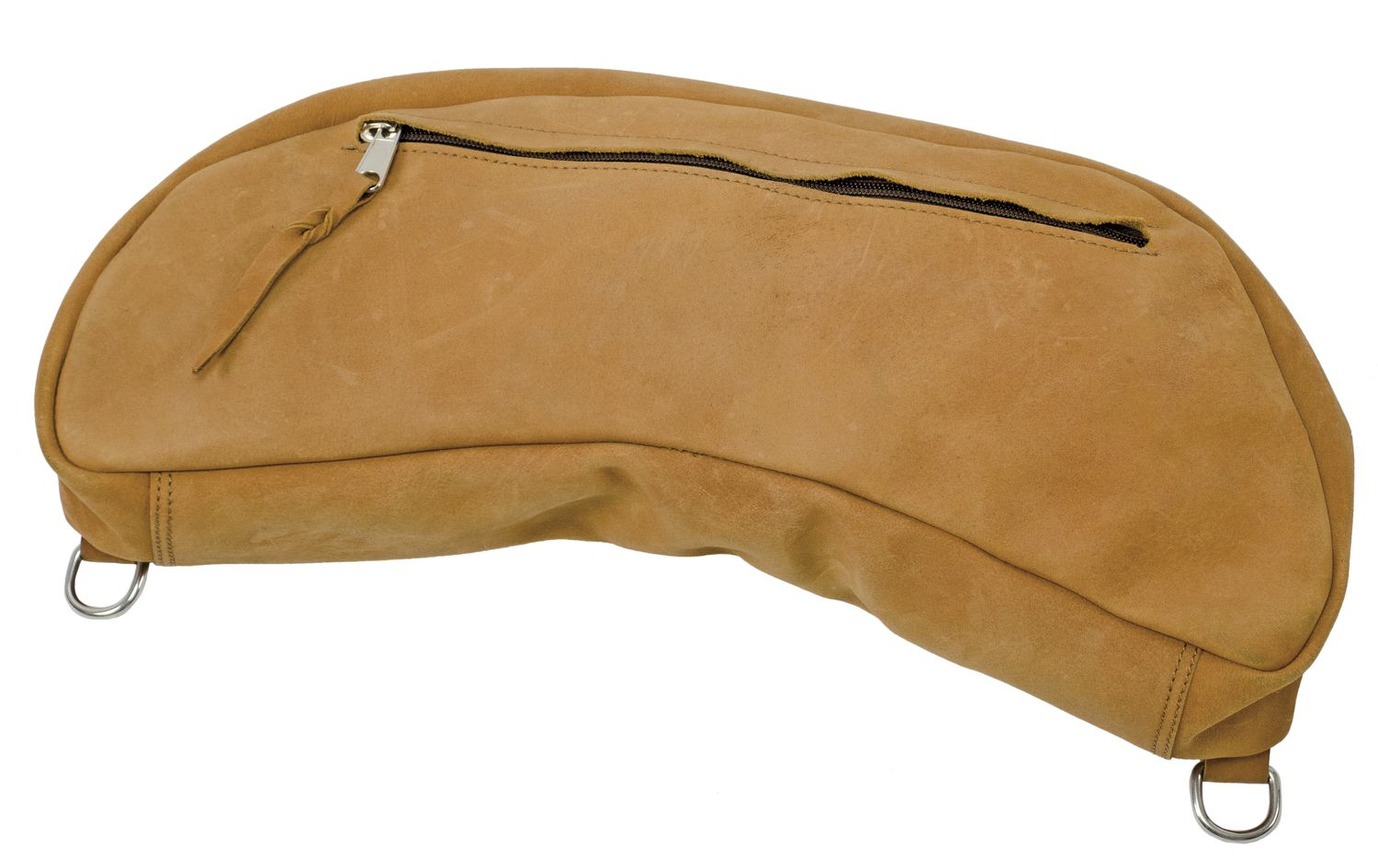 Saddle Bag Banana Brun
