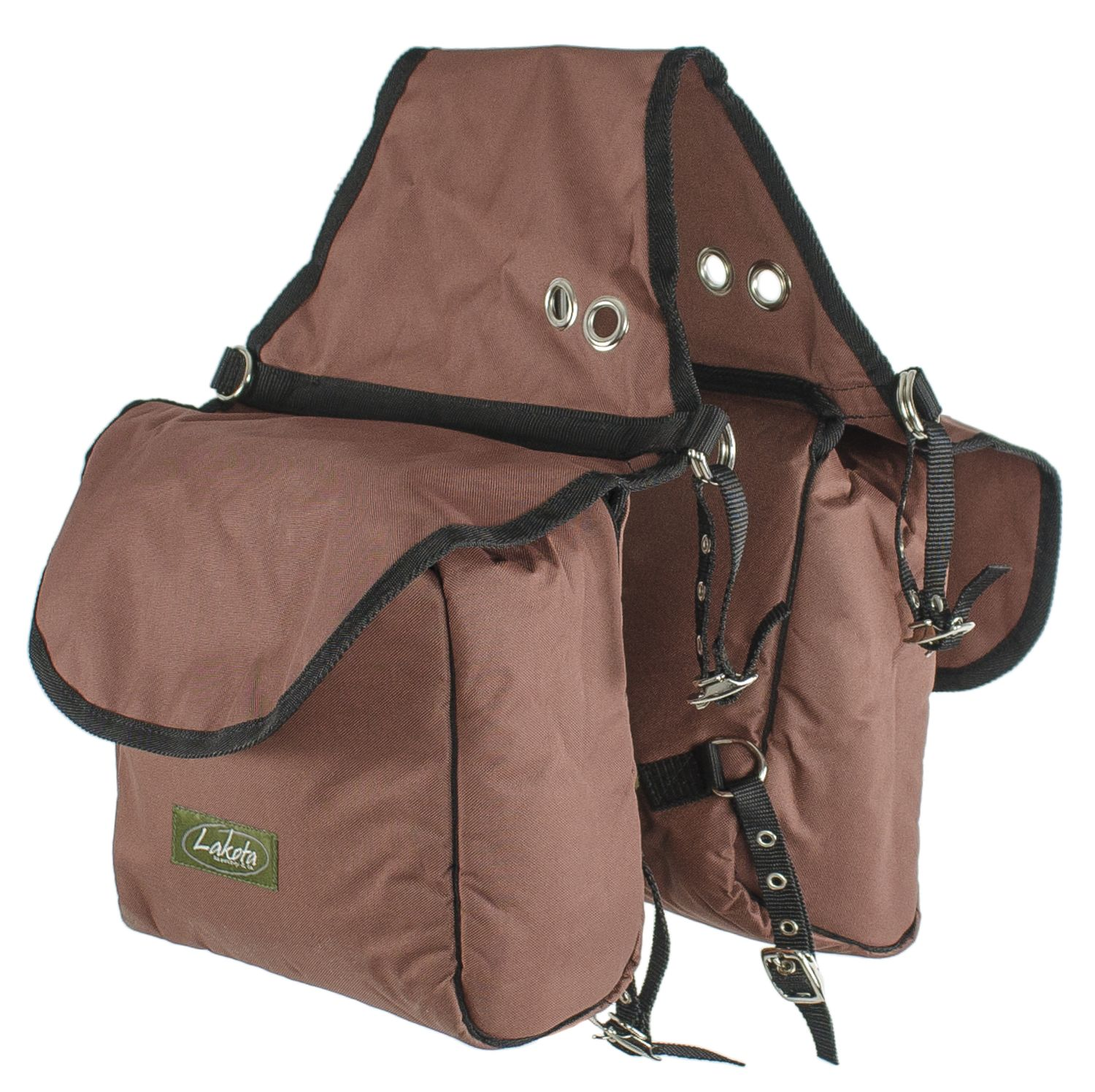 Saddle Bag Rear Svart