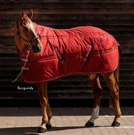 Acavallo Stable Rug 500g Navy 100 cm