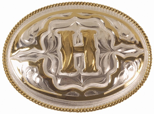 Belt Buckle i Nysilver