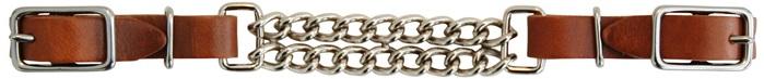 Curb Strap Double Chain