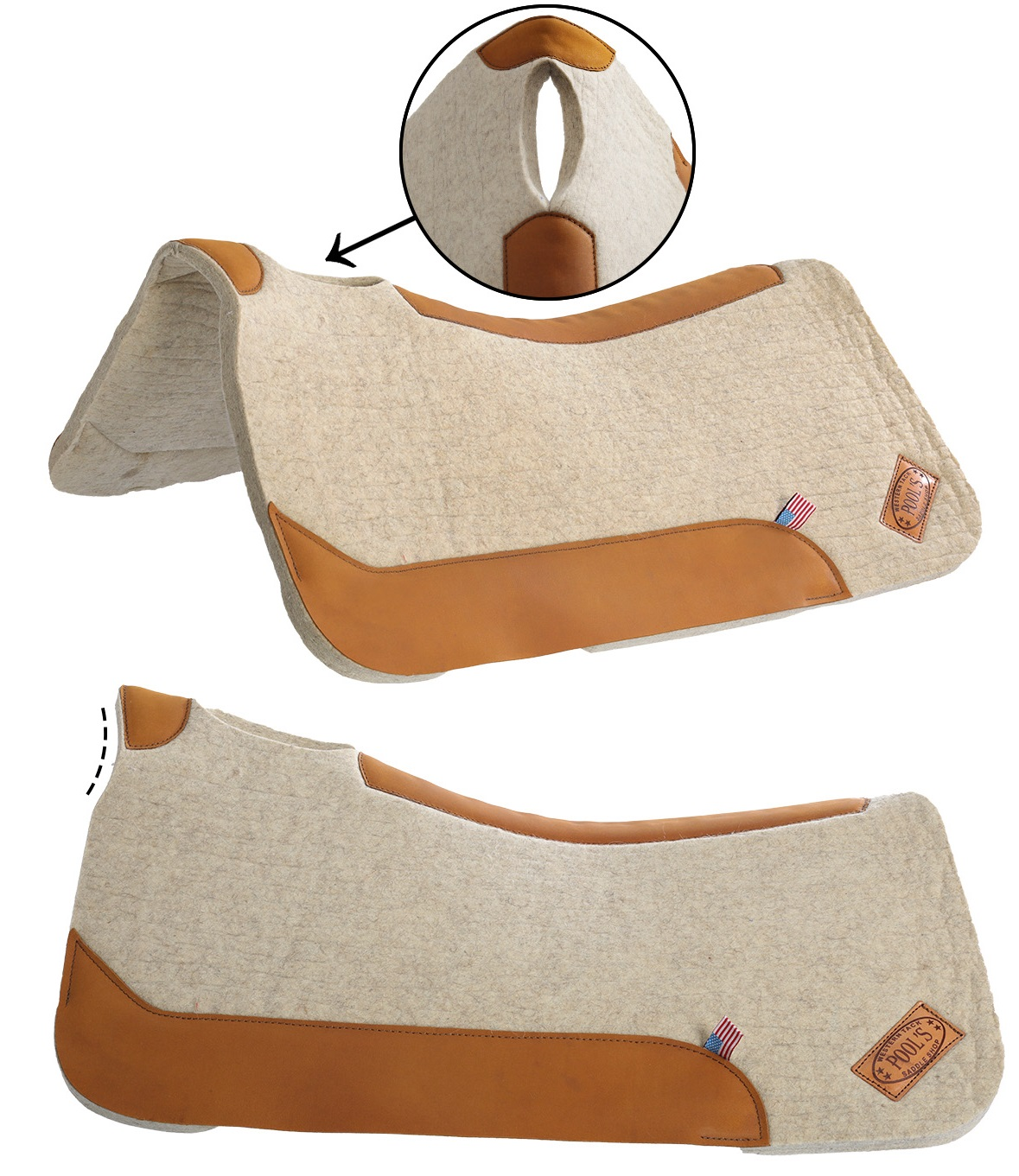 Pools Western Saddle Pad