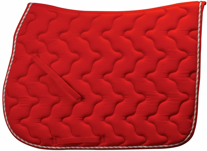 Derby Saddle Pad  Burgundy 104