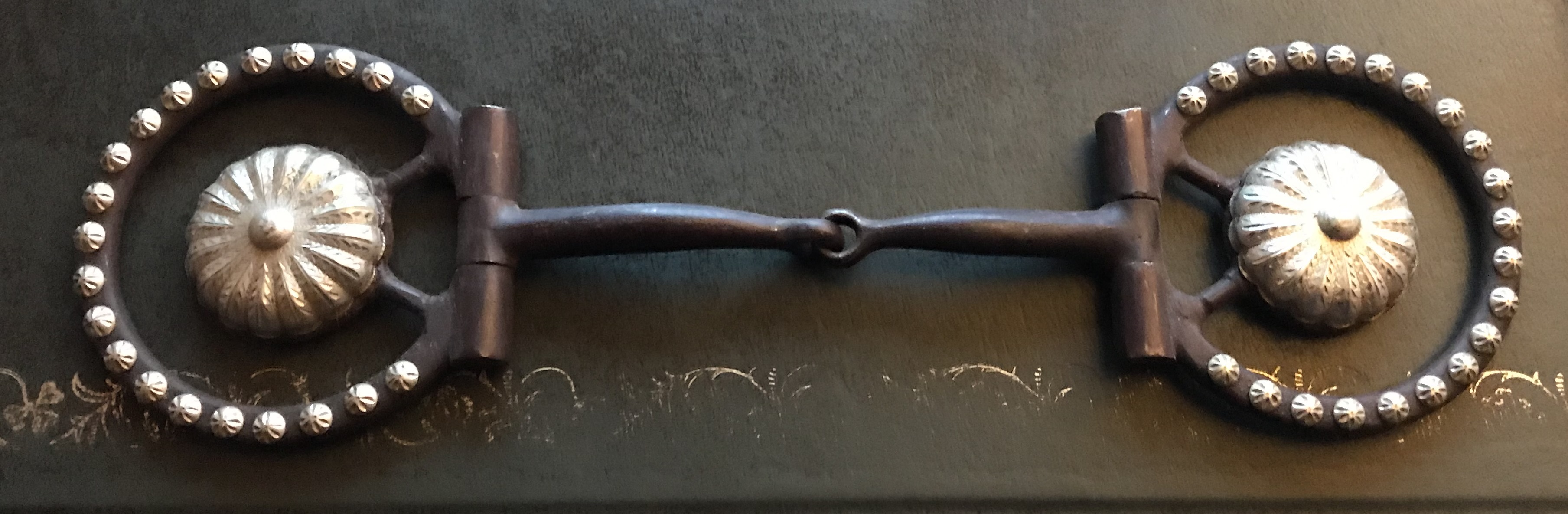 Snaffle Bit Brown Steel